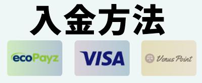 カジノシークレット入金方法画像
