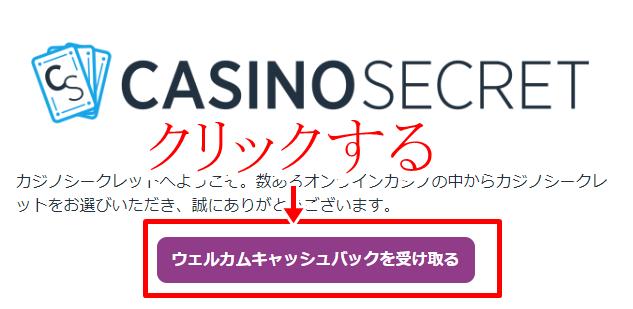 カジノシークレット登録方法画像5