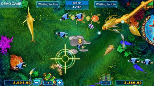 コニベットカジノ魚ゲーム画像